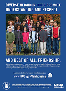 Fair Housing Poster, Friendship