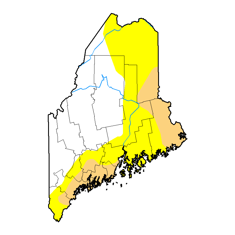 U.S. Drought Monitor - Maine