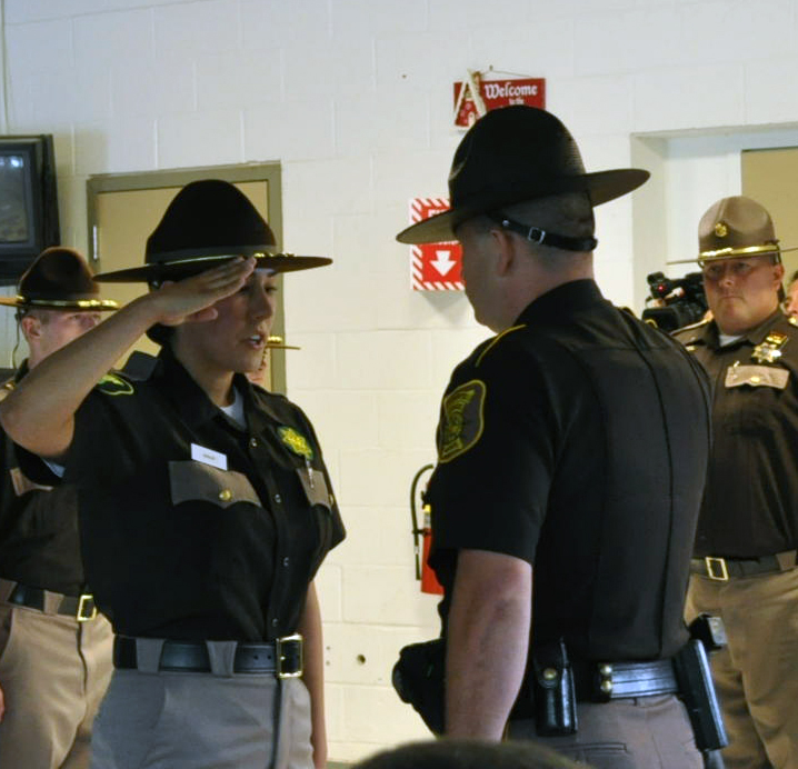 Swearing In of Deputy Dudley