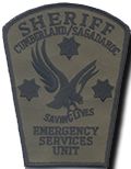 CCSO Emergency Services Unit Patch - Early 2000s