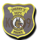 CCSO K-9 Unit Patch - Early 1990s